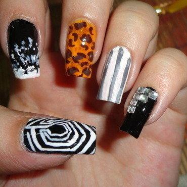 Exo Overdose Nail Art nail art by Leneha Junsu
