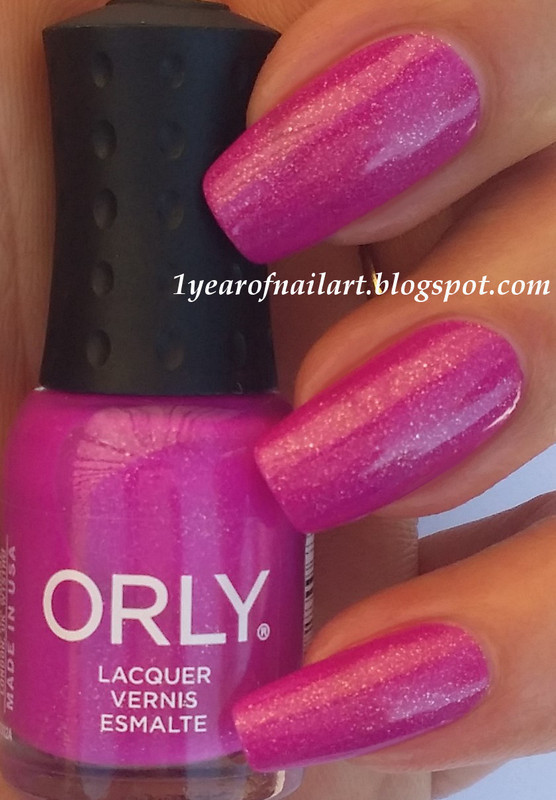 Orly Baked Hot Tropics Swatch by Margriet Sijperda