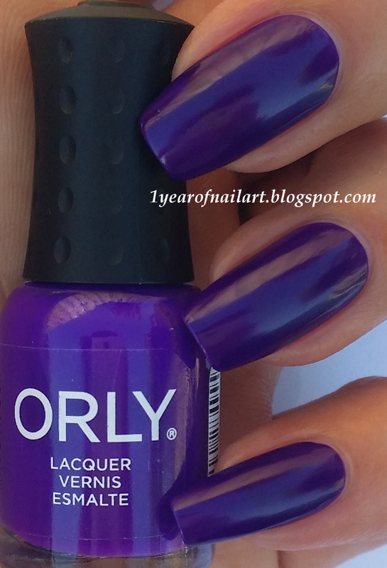 Orly Baked Saturated Swatch by Margriet Sijperda