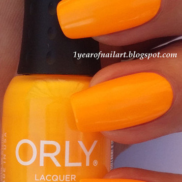 Orly Baked Tropical Pop Swatch by Margriet Sijperda