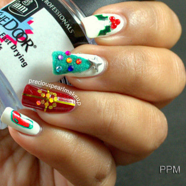 Christmas nail art 001 thumb370f