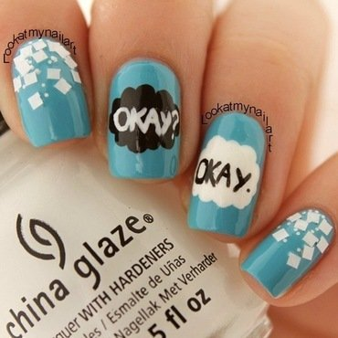 The Fault In Our Stars nail art by Sabine