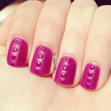 Lego nail art by  Faye