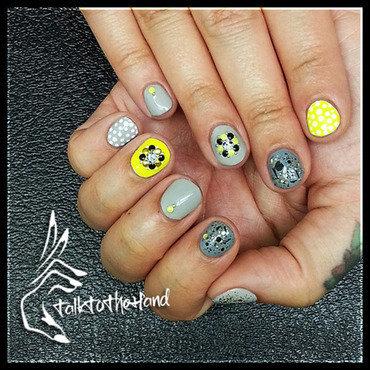 Neon Nubs nail art by TalktothehandNails