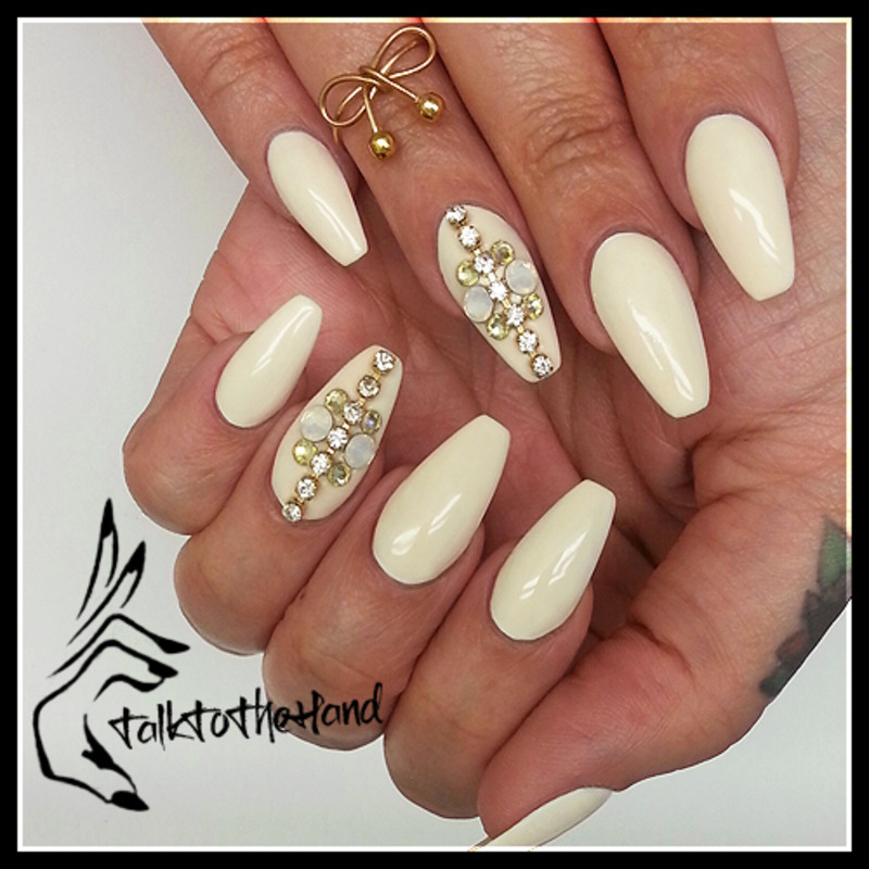 Diamonds are a girls best friend nail art by talktothehandnails diamonds are a girls best friend nail art by talktothehandnails prinsesfo Image collections