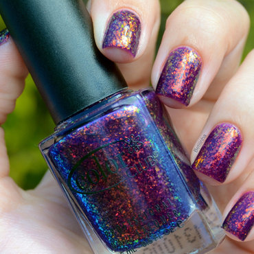 Color Club The Uptown and Colorama Ultravioleta Swatch by Brasil_nailart