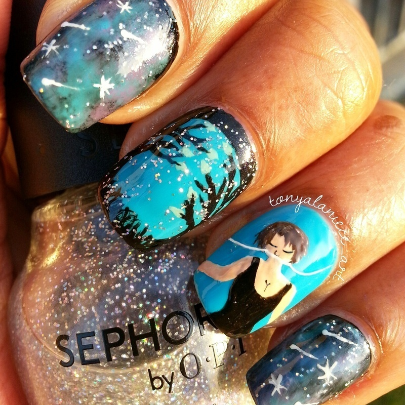 The Fault In Our Stars ☆ nail art by Tonya