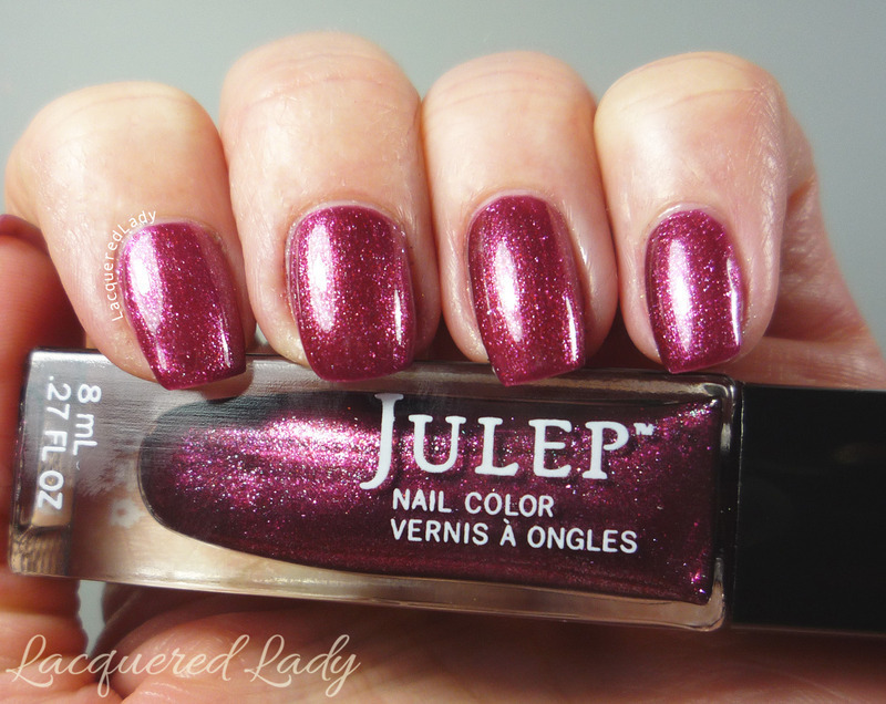 Julep Greta Swatch by LacqueredLady