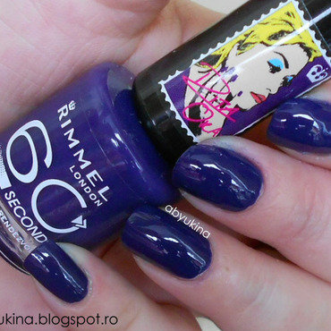 Rimmel 613 Midnight Rendezvous Swatch by Aby