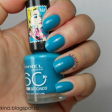 Rimmel 863 Do Not Disturb Swatch by Aby