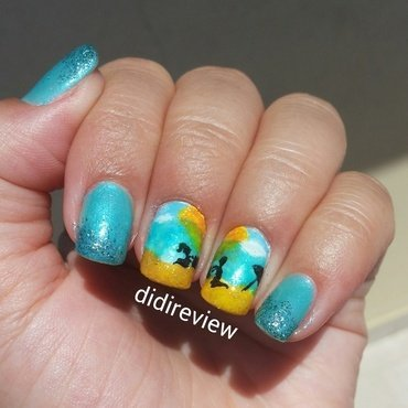 my fathers and me ♥ nail art by Didi didireview