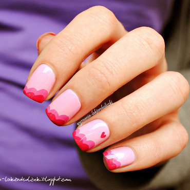 Sweet pink heart nails 3 thumb370f