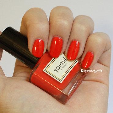 Soigné Persimmon Swatch by Pardon My Nails