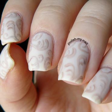 Beige nail art 3 thumb370f