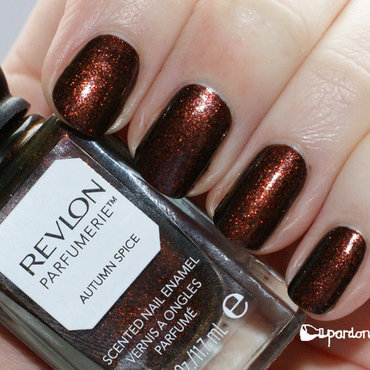 Revlon Autumn Spice Swatch by Pardon My Nails