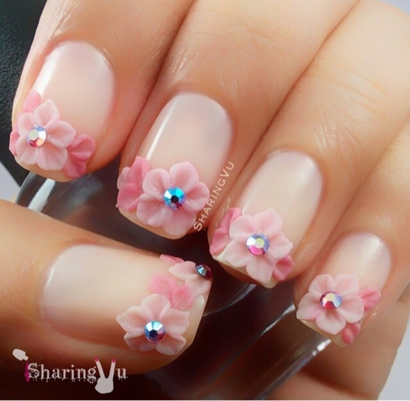 🌸🌸🌸🌸🌸 nail art by SharingVu