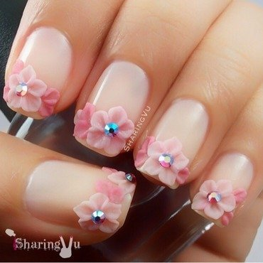 🌸🌸🌸🌸🌸 nail art by SharingVu