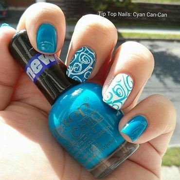 Tip top cyan can can stamped thumb370f