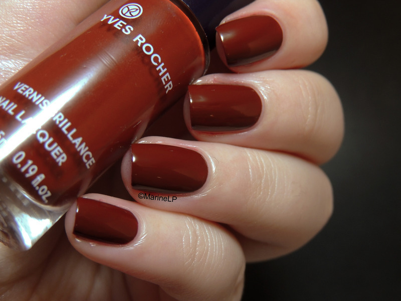 yves rocher Sienne Swatch by Marine Loves Polish