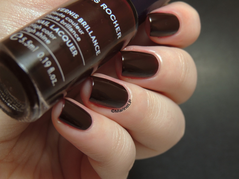 yves rocher Cerise noire Swatch by Marine Loves Polish