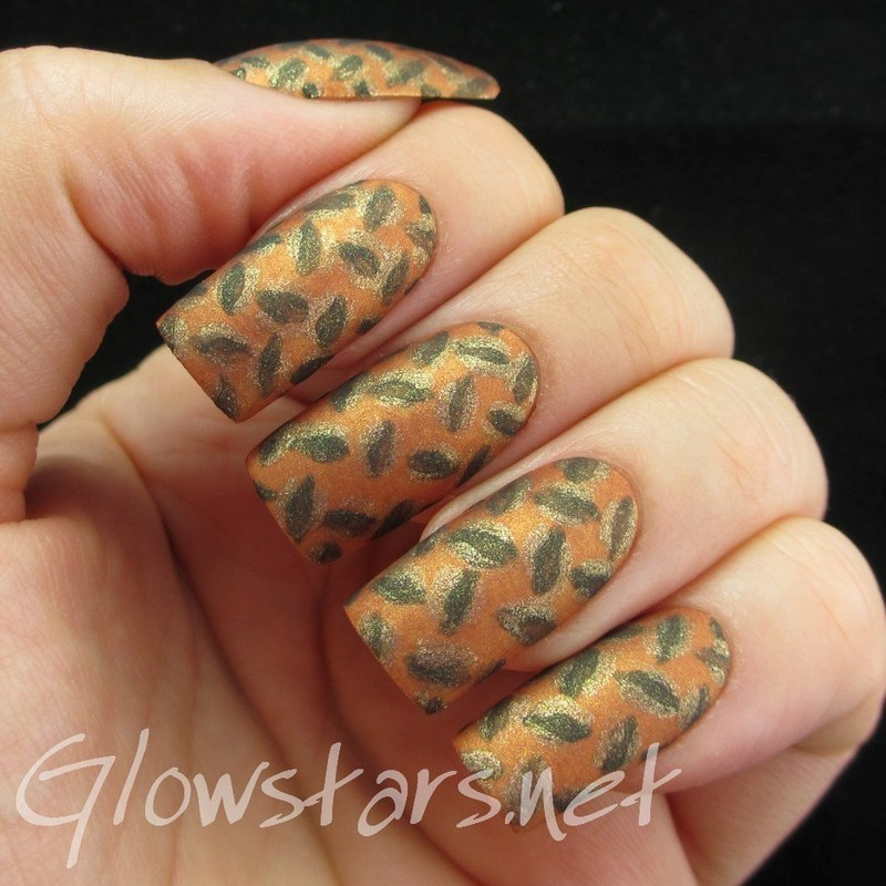 The Digit-al Dozen Does Metal: Rust nail art by Vic 'Glowstars' Pires