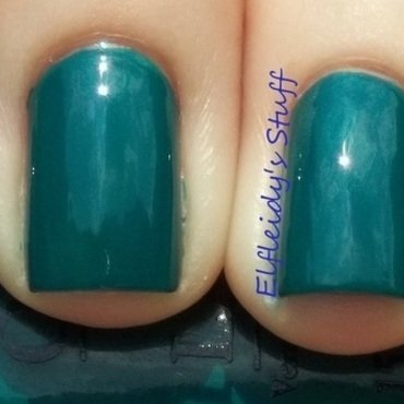 OPI AmazON...AmazOFF Swatch by Jenette Maitland-Tomblin
