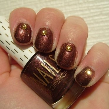Autumn Jewels nail art by Lina-Elvira