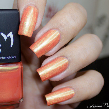 LMcosmetic Corail Swatch by Lizana Nails