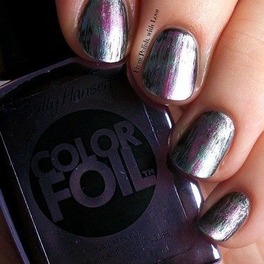 Colorfoil grunge nail art 1 thumb370f