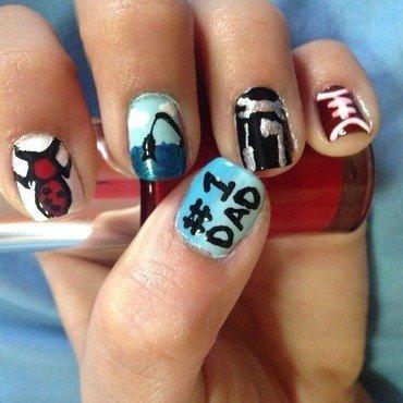 Dad's #1  nail art by Eliprincess1_