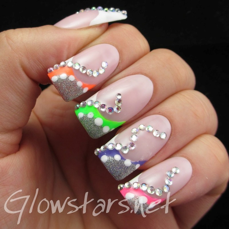 Devil's got your shirt tail clutched in the palm of his hand nail art by Vic 'Glowstars' Pires