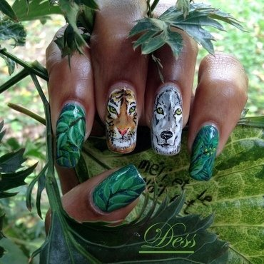 Wild nails nail art by Dess_sure