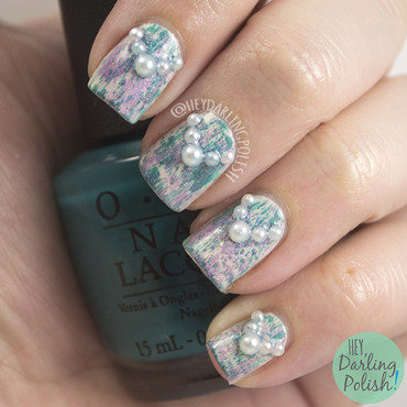 Nail art ideas linkup pearl distressed 4 thumb370f