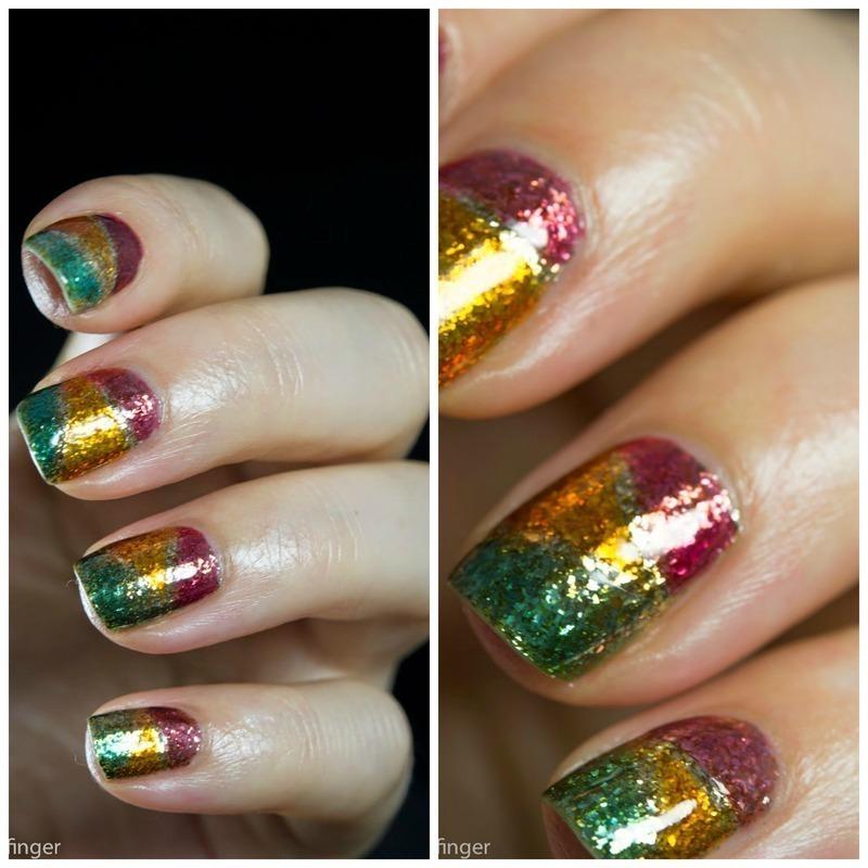 Jelly Polish Nail Art nail art by  Petra  - Blingfinger
