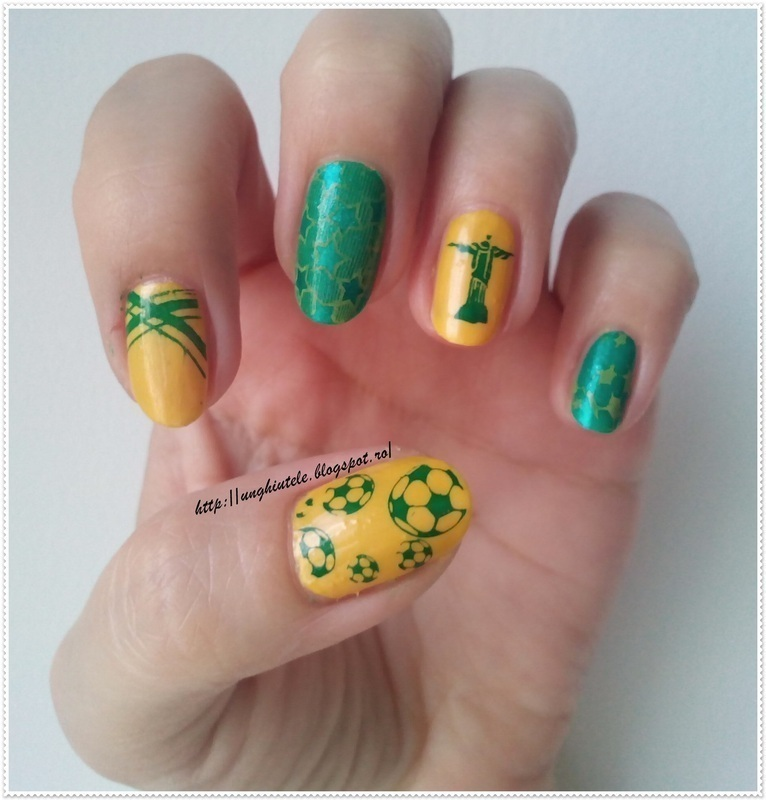 Mani for Father's Day nail art by Oana  Alexandru