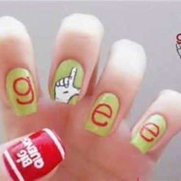 Glee nails😍 nail art by I_nails_
