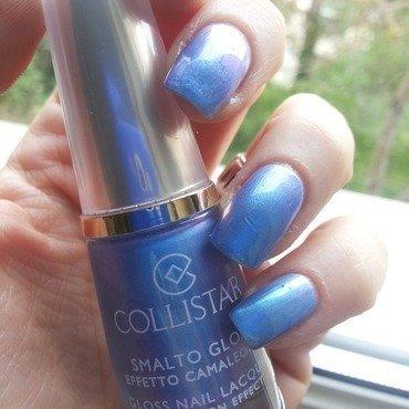 collistar 633 Azzurro Camaleonte Swatch by Sara