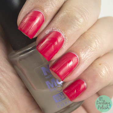 Golden oldie thursdays red nail art 4 thumb370f