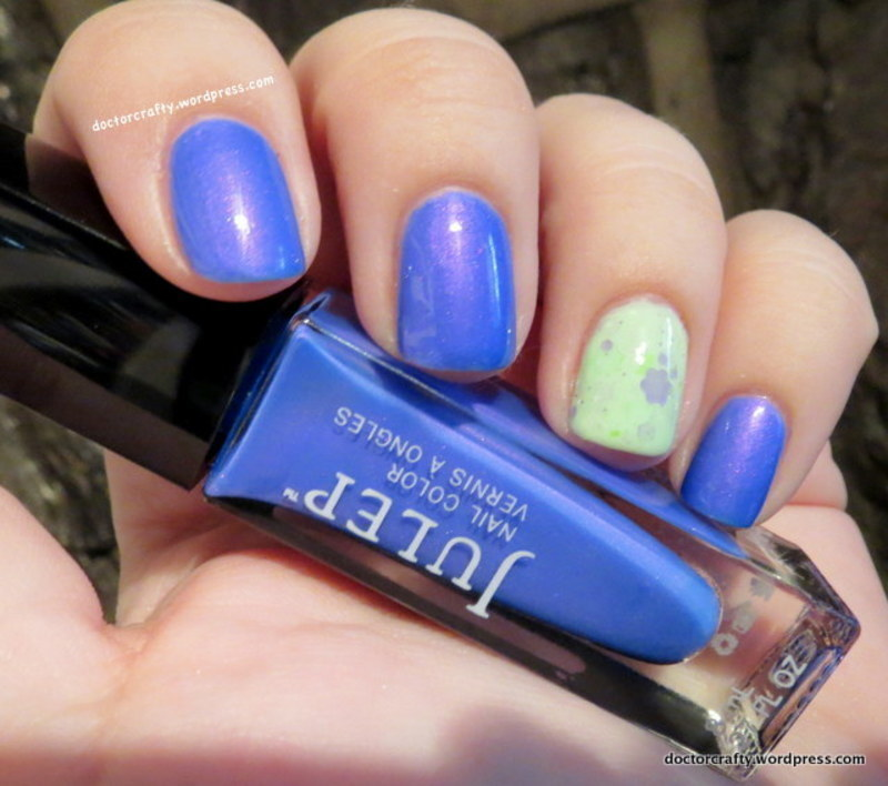 Julep Kayla and KBShimmer Daisy About You Swatch by Nicole