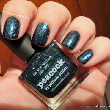 piCture pOlish Peacock Swatch by Nicole