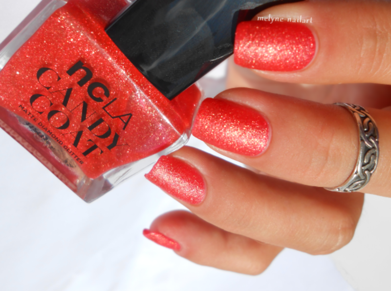 NCLA Cinnamon Girl, Candy Coat collection Swatch by melyne nailart