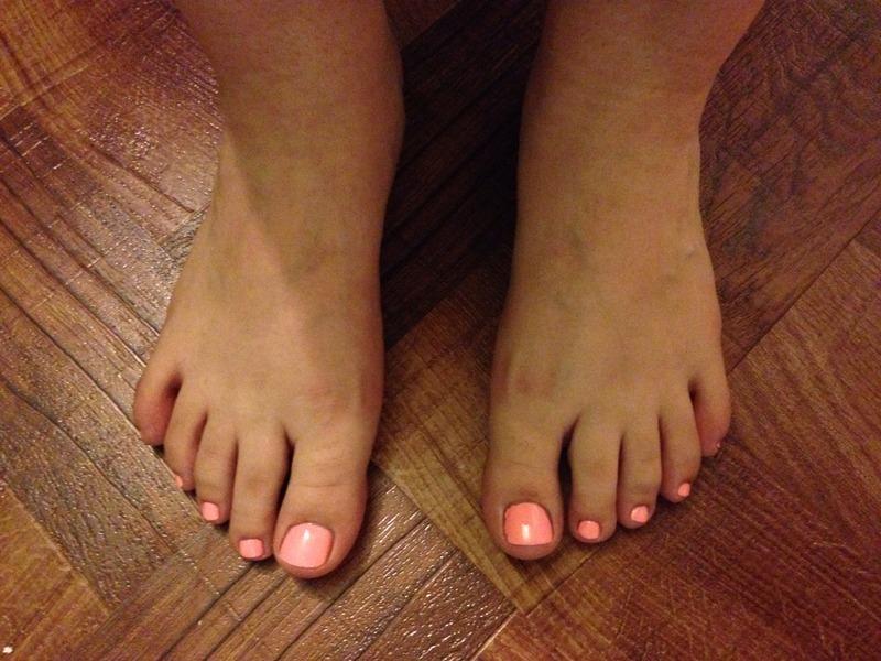 Toes nail art by mel