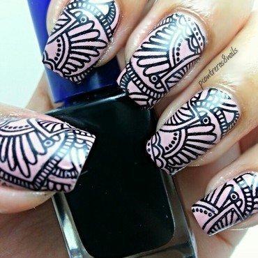Abstract Henna nail art by pcontreras8nails