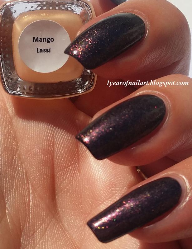 Jior Couture Mango Lassi Swatch by Margriet Sijperda
