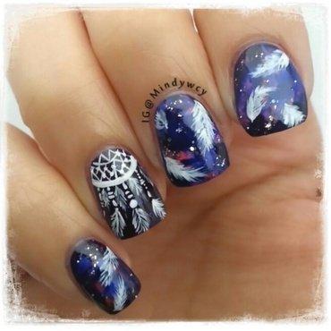 good night, sweet dreams nail art by mindywong