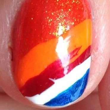 Wold cup nail art by Factornails