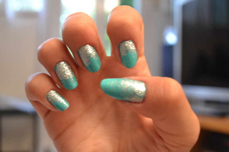 Sparkling nail art nail art by Giorgia