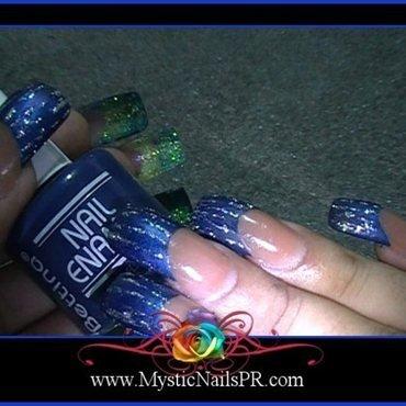 Bettina Indigo Swatch by Jennifer Perez ♥ Mystic Nails
