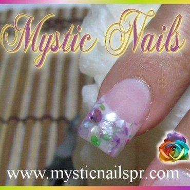 Seashell French ♥ by Jennifer Perez nail art by Jennifer Perez ♥ Mystic Nails