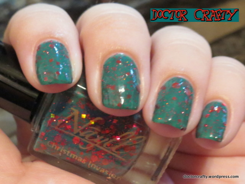 Nayll Christmas Invasion Swatch by Nicole